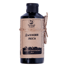 Шампунь «Дыхание леса» для нормальных волос, дикий запах Голодный леший, 200 мл