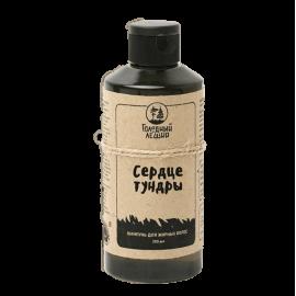 Шампунь «Сердце тундры» для жирных волос, дегтярный Голодный леший, 200 мл