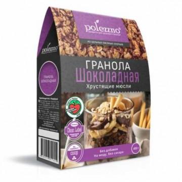 "Гранола ""Шоколадная"", 400 гр Polezzno"