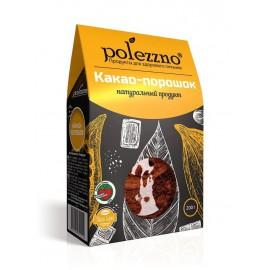 Какао порошок натуральный, 200г Polezzno, , 8.00 руб., Какао порошок натуральный, 200г Polezzno, POLEZZNO – продукты для здорового питания, ЕДА NEW