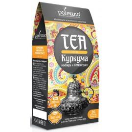 Чай куркума, имбирь и лемонграсс DETOX, 40 гр Polezzno, , 5.80 руб., Чай куркума, имбирь и лемонграсс DETOX, 40 гр Polezzno, POLEZZNO – продукты для здорового питания, ЕДА NEW