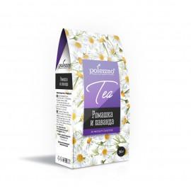 Ромашковый чай с лавандой, 30 гр Polezzno, , 5.70 руб., Ромашковый чай с лавандой, 30 гр Polezzno, POLEZZNO – продукты для здорового питания, Чай, кисель или какао?