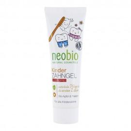 Гелевая зубная паста без фтора с био-яблоком и папайей для детей NeoBio, 50 мл, , 11.50 руб., Гелевая зубная паста без фтора для детей NeoBio, 50 мл, NeoBio, Для чистки зубов