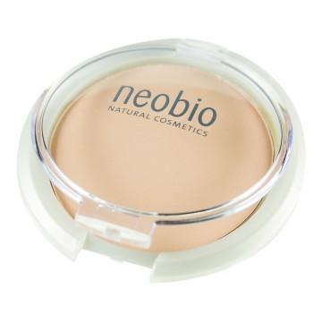 Компактная пудра 01 светло-бежевая NeoBio, 10 гр