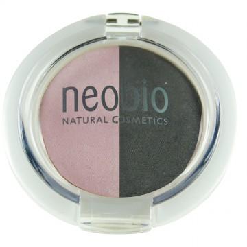 """Двойные тени для век """"Розовый бриллиант"""" NeoBio, 5г"""