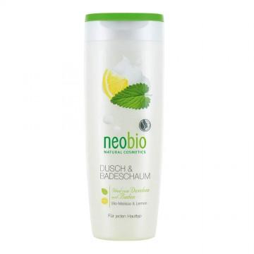 Пена для душа и ванны с био-мелиссой и лимоном NeoBio, 250 мл