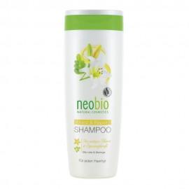 Шампунь Блеск и восстановление с био-лилией и морингой, NeoBio, 250 мл