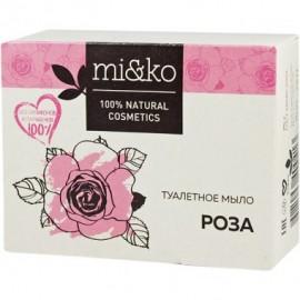 Туалетное мыло Роза Mi&ko, 75 г, , 12.50 руб., Туалетное мыло Роза Mi&ko, Ми&Ко - 100% натуральная косметика, Натуральное мыло