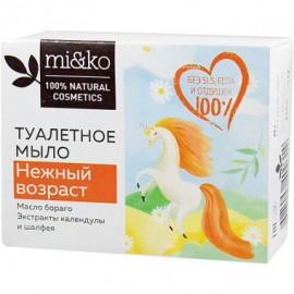 Туалетное мыло Нежный возраст Mi&ko, 80 г, , 9.00 руб., Туалетное мыло Нежный возраст Mi&ko, 80 г, Ми&Ко - 100% натуральная косметика, Детское мыло