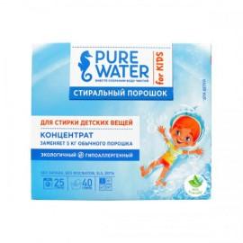 Стиральный порошок для детского белья Pure Water, 800 гр, , 20.00 руб.,  Стиральный порошок для детского белья Pure Water, Ми&Ко - 100% натуральная косметика, Для детей