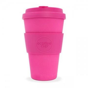 Кофейная эко-чашка: Розовый, 400мл, Ecoffee cup