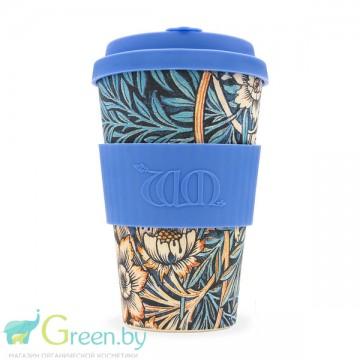 Кофейная эко-чашка:  Лилия, 400мл, Сoffee Cup