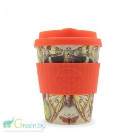 Кофейная эко-чашка: Фарфалле, 350мл, Сoffee Cup, , 26.00 руб., Кофейная эко-чашка: Фарфалле, 350мл, Сoffee Cup, Ecoffee cup(Великобритания), Zero waste = Ноль Отходов