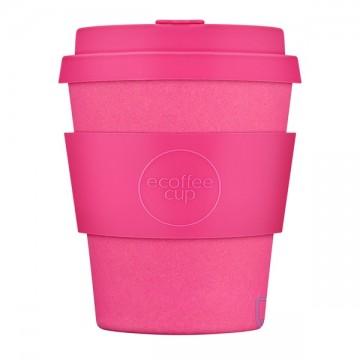 Кофейная эко-чашка: Розовый, 250мл, Ecoffee cup