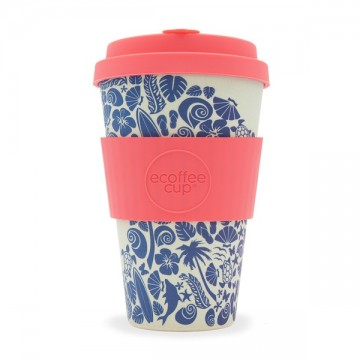 Кофейная эко-чашка: Залив Ваймеа, 400мл, Ecoffee cup