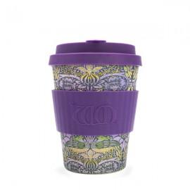 Кофейная эко-чашка: Павлин, 350мл, Сoffee Cup, , 28.00 руб., Кофейная эко-чашка: Павлин, 350мл, Сoffee Cup, Ecoffee cup(Великобритания), Многоразовые чашки Ecoffee cup и Stojo