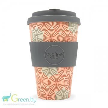 Кофейная эко-чашка: Водоворот, 400мл, Сoffee Cup