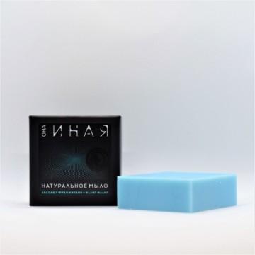 ОНА ИНАЯ натуральное мыло франжипани + иланг-иланг, 55 г