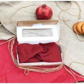Повязка Бордо узелок ALOE, , 20.00 руб., Повязка Бордо узелок ALOE, ALOE - шоперы, фруктовки и кое-что еще..., Приятные полезности