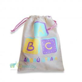 Мешок для детских игрушек, Aliva, , 21.00 руб., Мешок для детских игрушек, Aliva, Aliva Bags Экосумки, фруктовки, мешочки, Сумки и фруктовки