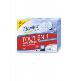 """Таблетки для посудомоечных машин """"ВСЕ в 1"""" Etamine du Lys, 60 шт"""