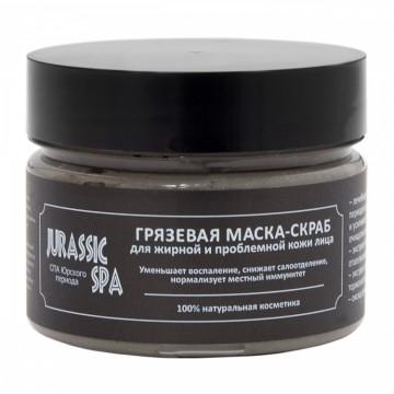 Маска-скраб для жирной и проблемной кожи лица Jurassic Spa, 100 мл