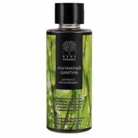 Альгинатный шампунь для волос увлажняющий МИНИ Nano organic, 50 мл, , 3.40 руб., Альгинатный шампунь для волос увлажняющий МИНИ, 50 мл, Nano organic — натуральная косметика, Шампуни и бальзамы для волос