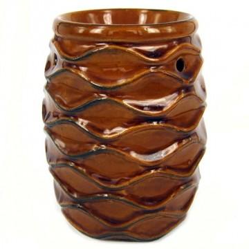 Аромалампа Шишка 10 см, керамика, большая