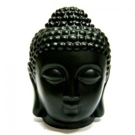 "Аромалампа ""Голова Будды"" чёрная, 13 см, , 25.00 руб., Аромалампа ""Голова Будды"" чёрная, 13 см, , Аромалампы-кулоны-камни"