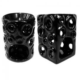 Аромалампа керамика 11см, черная, большая, , 12.00 руб., Аромалампа керамика 11см, , Аромалампы-кулоны-камни