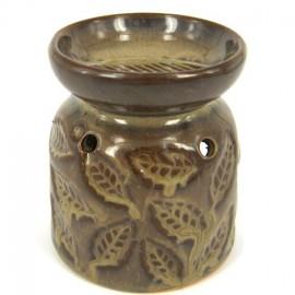 Аромалампа Листочки, 9х7см, керамика, средняя, , 10.00 руб., Аромалампа Листочки, 9х7см, , Аромалампы-кулоны-камни