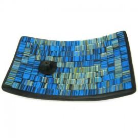 Подставка для благовоний 10х20см керамика, стекло, большая, , 18.00 руб., Подставка для благовоний 10х20, , Приятные полезности