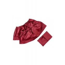 Бахилы Бордо (37-42 размер), , 13.70 руб., Бахилы Бордо (37-42 размер), Littlepirate — Многоразовые ЭКОпрокладки, Zero waste = Ноль Отходов