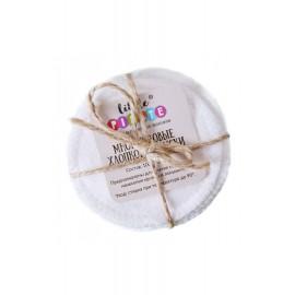 Многоразовые хлопковые диски, , 9.00 руб., Многоразовые хлопковые диски, Littlepirate — Многоразовые ЭКОпрокладки, Снятие макияжа