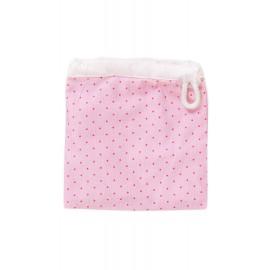 Непромокаемый конверт, Розово-пудровый/горох мелкий, , 9.80 руб., Непромокаемый конверт, Розово-пудровый/горох мелкий, Littlepirate — Многоразовые ЭКОпрокладки, Менструальные Чаши и прокладки