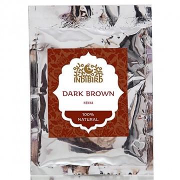 Хна тёмно-коричневая, 50 гр Indibird