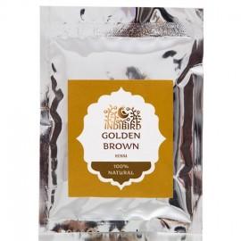 Хна золотисто-коричневая, 50 гр Indibird