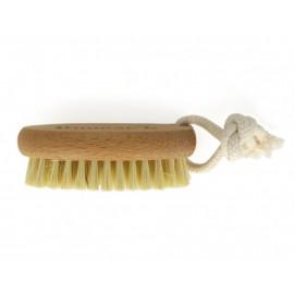 Щетка для сухого массажа с щетиной из кактуса без ручки