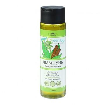 Шампунь Корица Цейлонская бессульфатный, Спивакъ 250 мл, для сухих и ломких волос