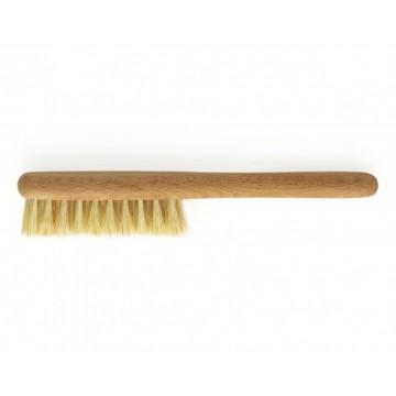 Расческа (тонкая) для волос из натурального бука, щетина кактус