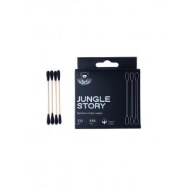 Ватные палочки 100шт, бамбуковые с хлопком Jungle story , , 6.50 руб., Ватные палочки 100шт, бамбуковые с хлопком Jungle story , , Zero waste = Ноль Отходов