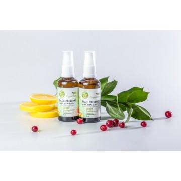 Пилинг для лица с АНА-кислотами для жирной и проблемной кожи, 50мл