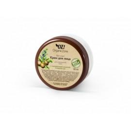 Крем для лица для нормальной кожи с гиалуроновой кислотой и маслом ши, 50мл, , 10.30 руб., Крем для лица для нормальной кожи, 50мл, OZ! OrganicZone — натуральная косметика, Кремы  для лица и декольте