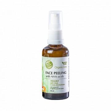 Пилинг для лица с АНА-кислотами для жирной и проблемной кожи OZ! OrganicZone, 50мл