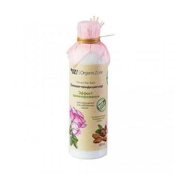 """Бальзам для секущихся и ослабленных волос """"Эффект ламинирования"""" OZ! OrganicZone, 250мл"""