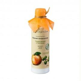 """Бальзам для всех типов волос """"Укрепление и питание"""", 250мл, , 16.80 руб., Бальзам """"Укрепление и питание"""", OZ! OrganicZone — натуральная косметика, Шампуни и бальзамы для волос"""