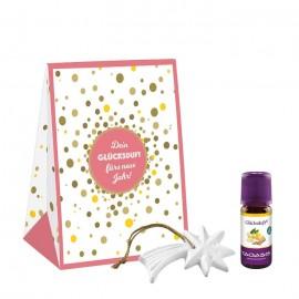 Подарочный набор Счастье с аромакамнем, 10 мл Taoasis