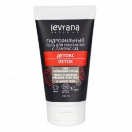 """Гидрофильный гель для умывания """"Детокс"""" Levrana, 150 мл"""