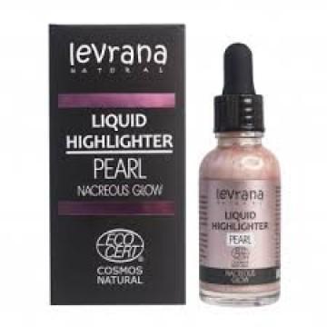 Жидкий хайлайтер Pearl (розовый) Levrana, 30 мл