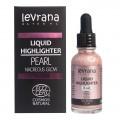 Жидкий хайлайтер Nacreous glow (розовый) Levrana, 30 мл